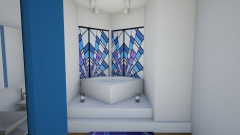 Blue bathroom 2 - Minimal - Bathroom - by abbyt94