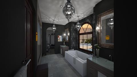 Dark Bath - Bathroom - by mattpop34