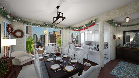 Christmas Dining - Dining room - by architect91