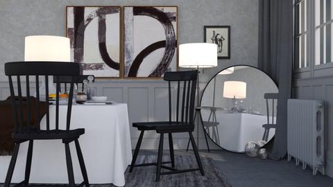 Moody - Modern - Dining room - by HenkRetro1960