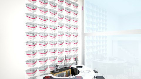 parete bar piano t  - Office - by Stefania Interdonato