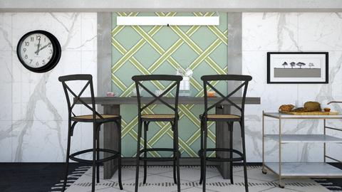 Vintage checkered pattern - Kitchen - by seth96