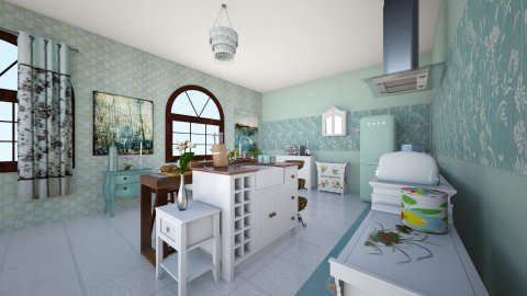 Cozinhaa - Retro - Kitchen - by kuleviczs