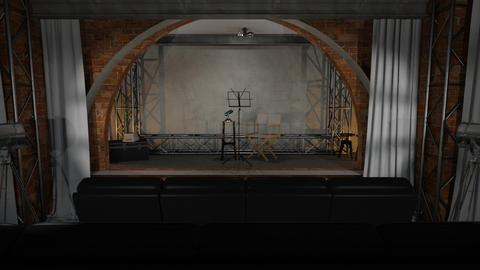 Theater Stage - by Just Bee