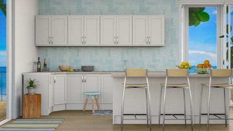 Beach House 6 - Modern - Kitchen - by millerfam