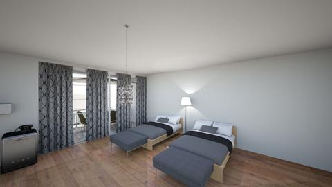 Habitacion King Size - Minimal - Bedroom - by CristoRey97