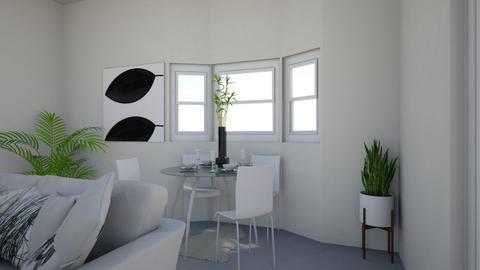 Dining 2 - Minimal - Dining room - by nramsamy1994