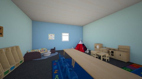 Classroom - Classic - Kids room - by laurenhoward2