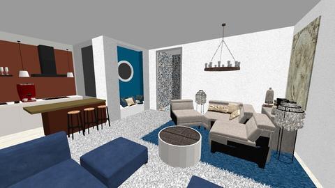 Studio Meditariano - Eclectic - Living room - by Daria Marienko