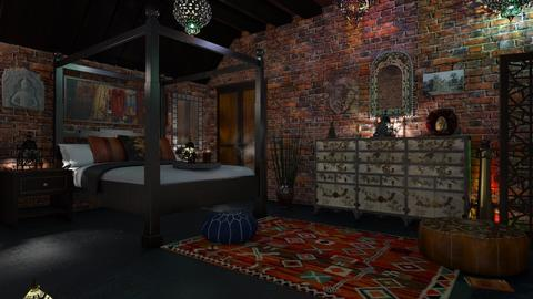 M_ Asia - Bedroom - by milyca8