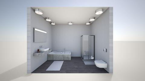 art project room 3 - Modern - Bathroom - by non_existy