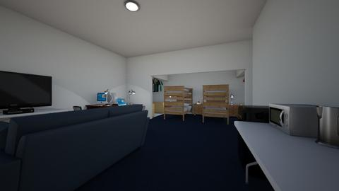 Dorm Suite Style Remodel - Bedroom - by SammyJPili