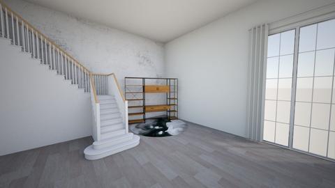 Star Crossed Stair Case - Living room - by Bennetteg