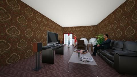 dream living room - Retro - Living room - by Emma Perez