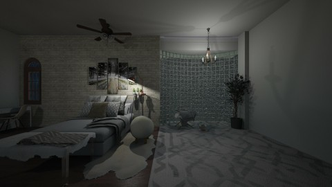 Urban Bedroom - by summer21
