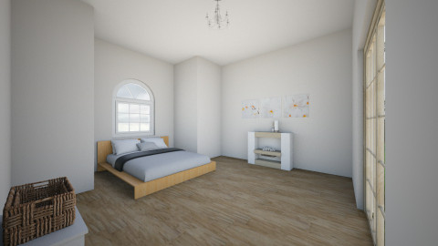 average bedroom 1 - Modern - Bedroom - by eve1238