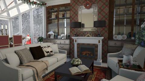 Merry Christmas - Living room - by Tim VB