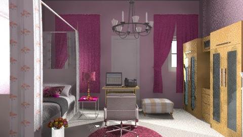 Just a Normal Girl Room - Feminine - Bedroom - by samantha1421