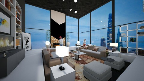 Modern Living Room - by Joan De Leon