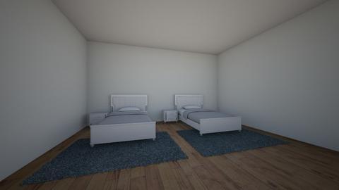 villa 2 - Living room - by jollanian