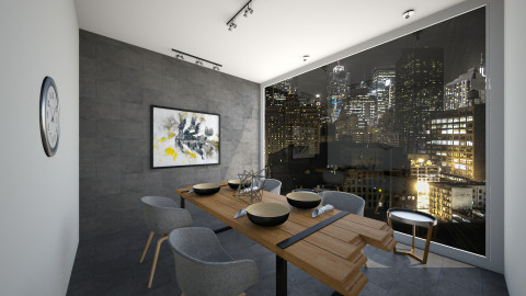 dining room  - Modern - by amalachrafii