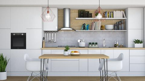 Scandi - Kitchen - by Laurika