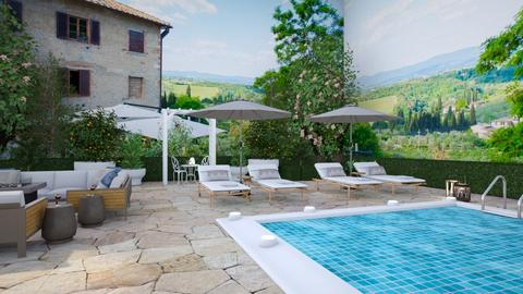Tuscany - Garden - by smunro7