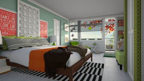 Redesign 100 David - Modern - Bedroom - by pachecosilv