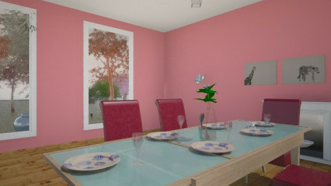 Nice atmosfere - Dining room - by paola2804