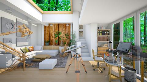 home office - Modern - Office - by Ida Dzanovic