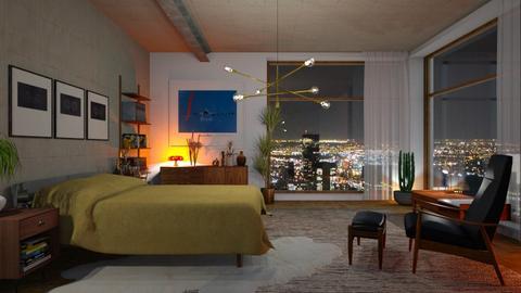 mc modern bedroom - Living room - by bnu