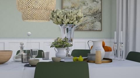 Still Life - Classic - Dining room - by HenkRetro1960