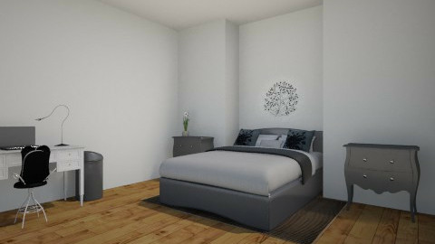 zwart/wit - Bedroom - by illyanaxx