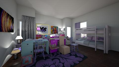 layla and jennifer - Kids room - by hillygabe