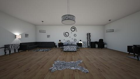 zebra - by amcie30