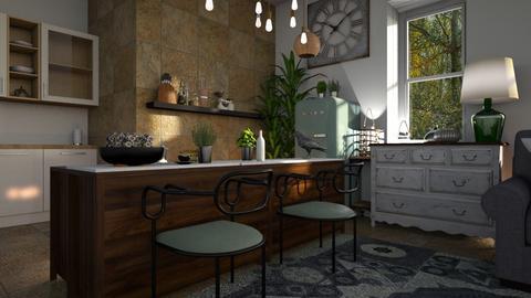 Raven - Kitchen - by ZuzanaDesign