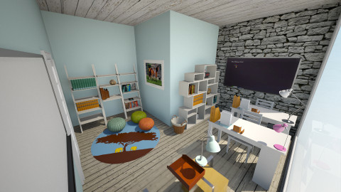 Perfect homeschool room - Modern - by jeushalumley