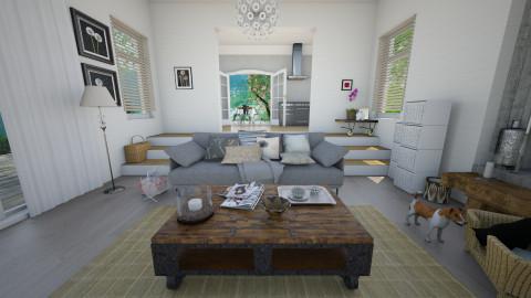 A sense of calm - Country - Living room - by mrschicken