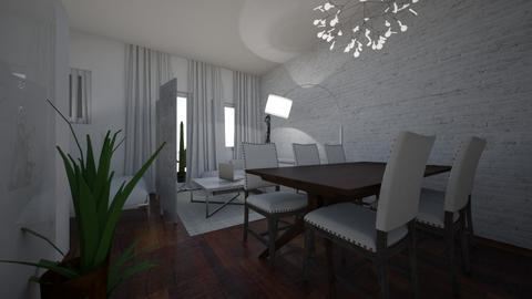 MONOLOCALE2 - Dining room - by ELVI