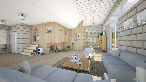 Playhouse - Modern - Living room - by evahassing