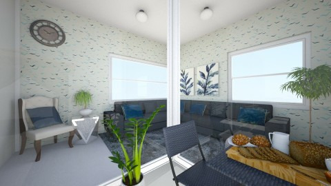 Sky Nature Room - Living room - by kuleviczs