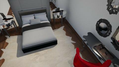 quarto - Bedroom - by AmandaLibardi