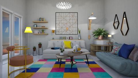 playful living room  - Modern - by mari mar