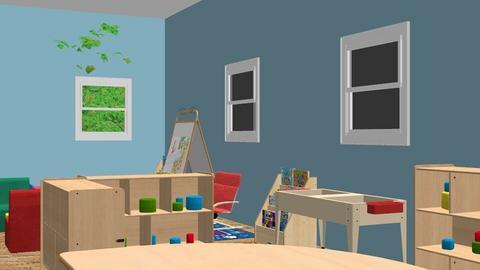 Indoor enviroment - Kids room - by GURYCJBKEUQZKQHJUEGHQYYVKFQNDYX