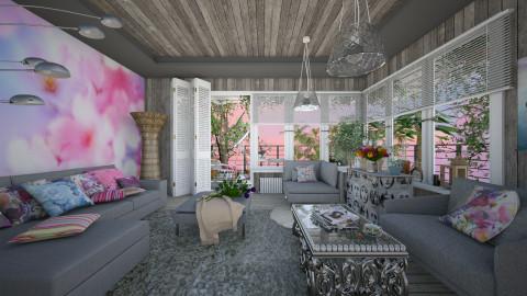 Spring 2016 - Eclectic - Living room - by Ida Dzanovic