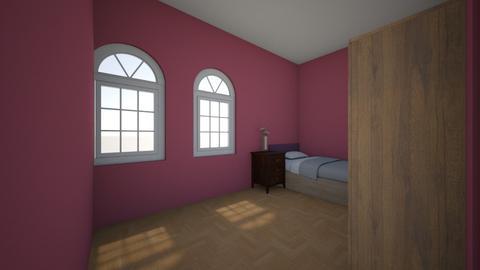 peaceful - Minimal - Bedroom - by cheesyjokeii