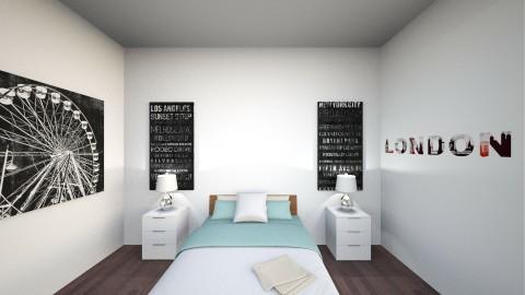 mel - Minimal - Bedroom - by Hika Channy