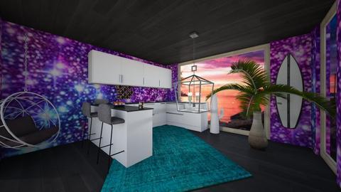 Galaxy Kitchen - Glamour - Kitchen - by Applestyler