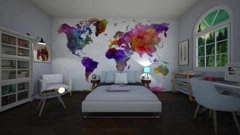 bedroom - by alejandramillancarrero