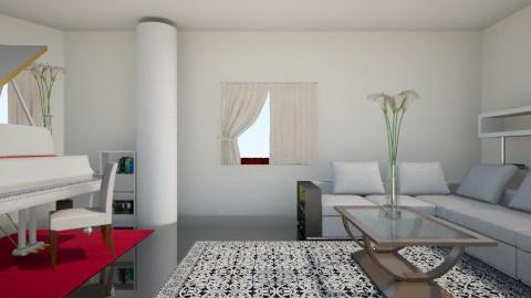 Living rom - Minimal - Living room - by Nightwasp